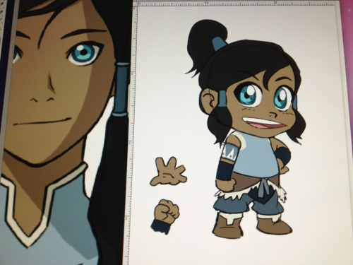 bryankonietzko:  Just a little chibi Korra sketch to end the week.