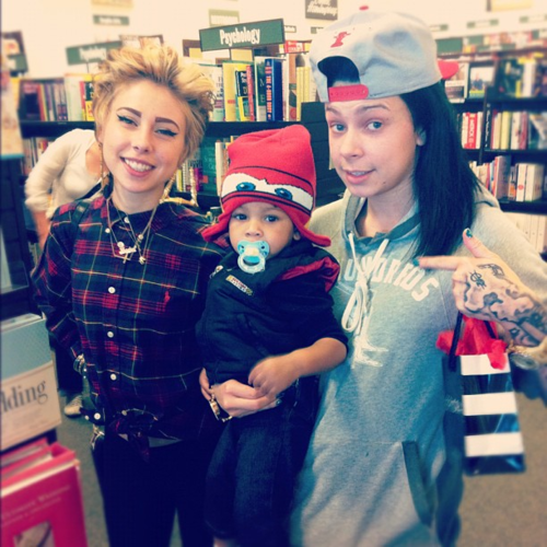 Guess who re-united today!! LIL DEBBIE AND VNASTY!