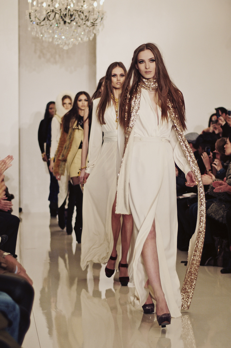 Rachel Zoe runway show @ the Empire Hotel
