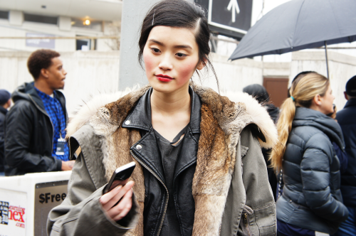 astrocrazy:  Ming Xi after Michael Kors by me.