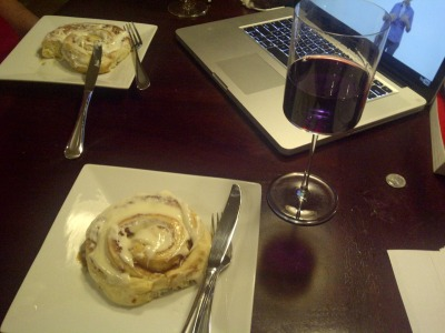 Homemade cinnamon rolls!
