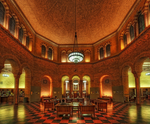 perfectlibraries:  UCLA's Powell Library by kern.