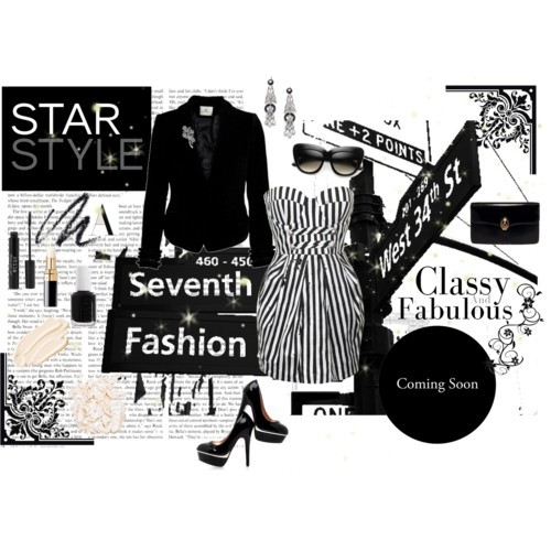 Classy and Fabulous by ms-aja-james featuring a black clutch