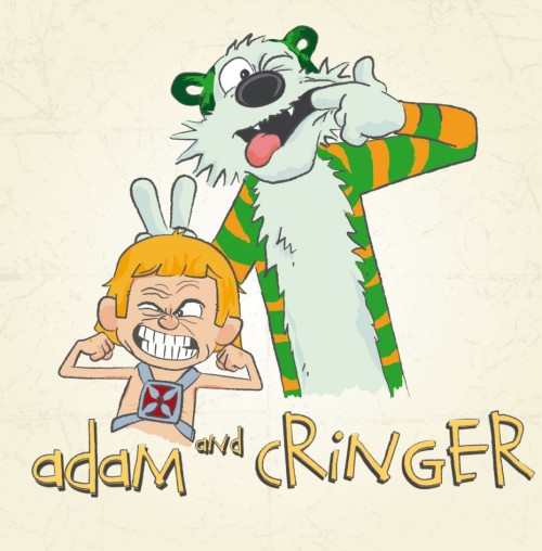 Seven_Hundred via ForeverGeek  Calvin & Hobbes? Nah - Adam & Cringer