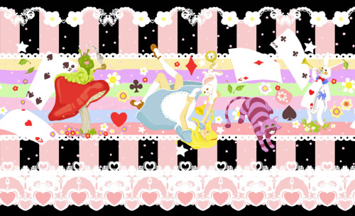 Alice print design for Bodyline