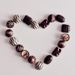 love, for chocolate