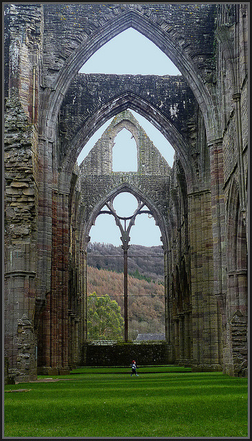 THE PAST OF TINTERN ABBEY by henrhyde on Flickr.