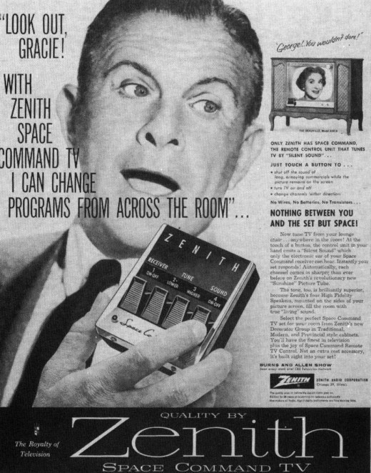 (via Early TV Remotes, 1950s | Retronaut)