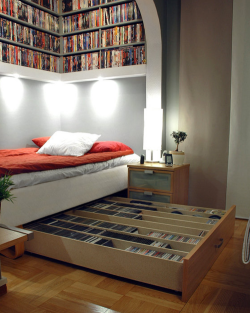 jessica-paige:  I want this, except with books.