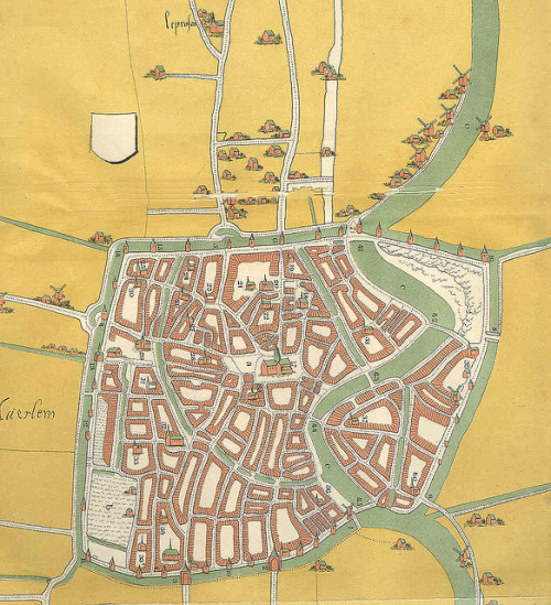 Haarlem-City-Map-1550 by romvise on Flickr.