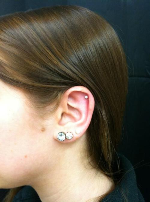 Flat piercing Haven Body Arts 108 Main Street FL2 Northampton MA 01060 Phone: (1-413-584-6637)