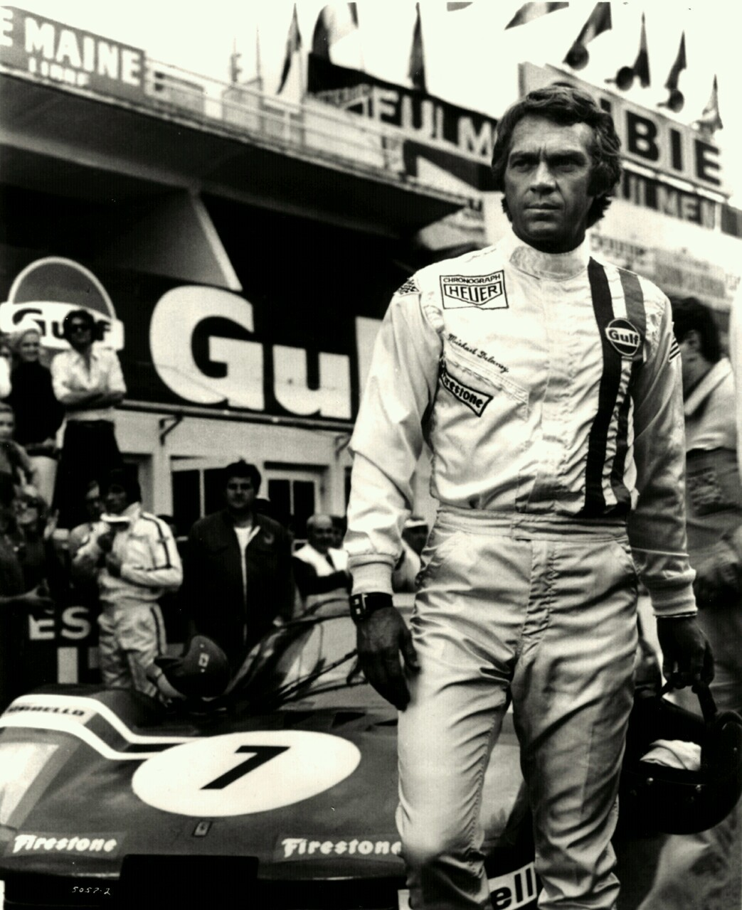 answertonobody:  Steve McQueen.