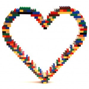 This is a LEGO Sculpture entitled Open Heart done by Nathan Sawaya. Check out the rest of his work at www.brickartist.com.