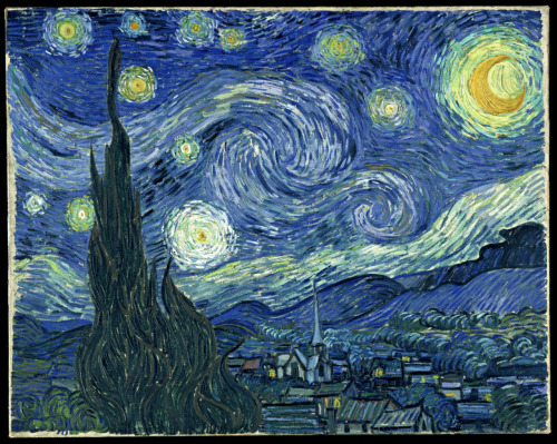 Vincent van Gogh - The Starry Night - 1889