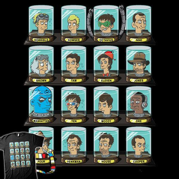 famous doctors from pop culture in futurama