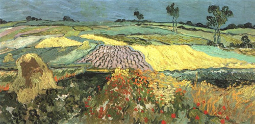 Vincent van Gogh - Wheat Fields near Auvers - 1890