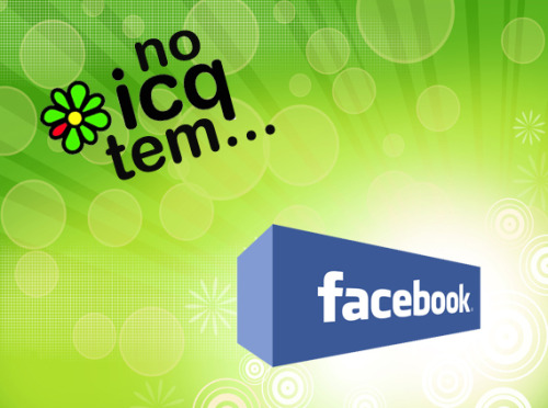 No ICQ tem… Facebook Chat: http://download.icq.com/download/icq/features/facebook/en