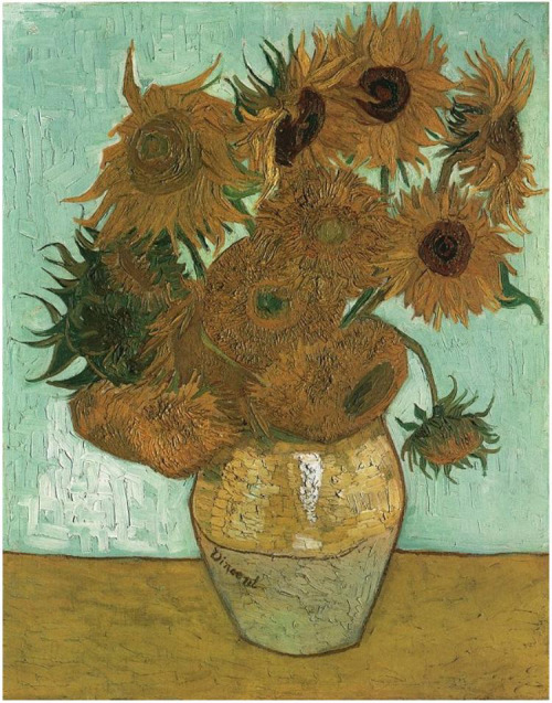 Vincent van Gogh - Still Life: Vase with Twelve Sunflowers - 1888