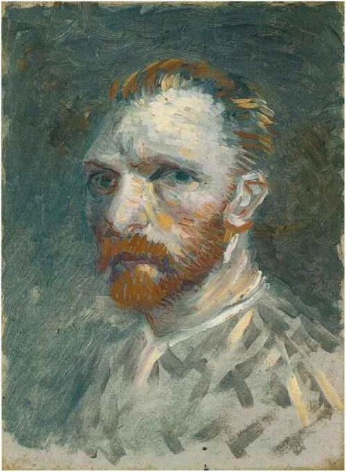 Vincent van Gogh - Self-Portrait - 1886/1887