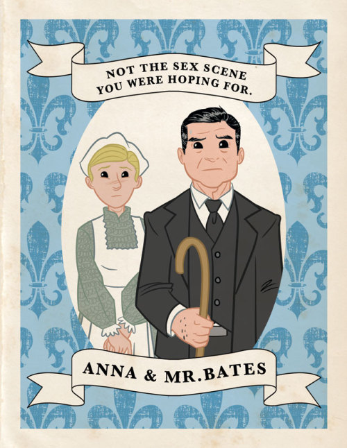More of VF's Downton Abbey trading cards, here! Comic by Chad Thomas.