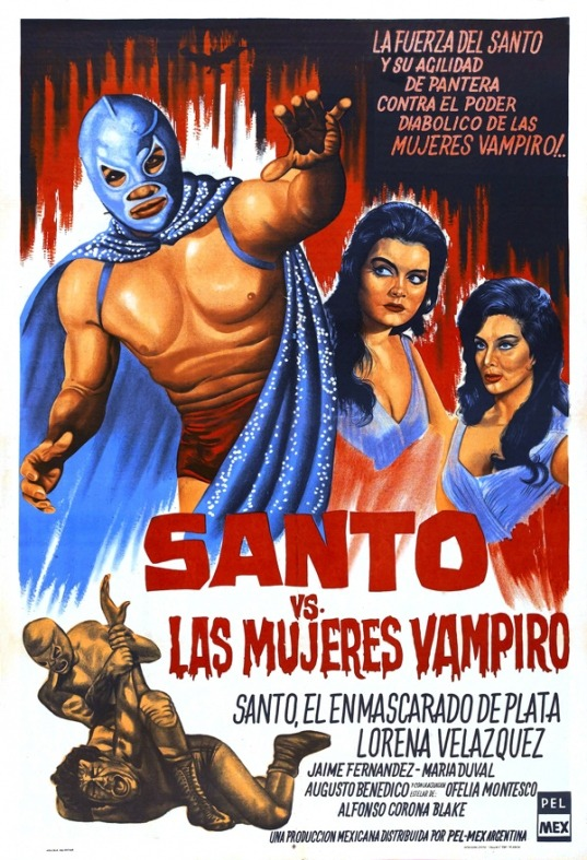 Santo vs The Vampire Women via: eleven-nineteen