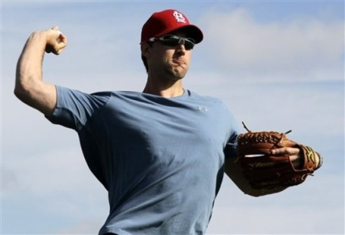 Adam Wainwright, 2-18-12