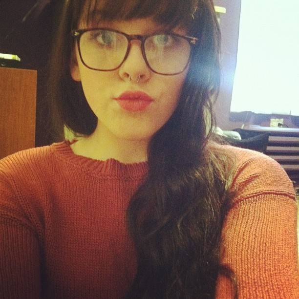Wearing my glasses today woo (Taken with instagram)