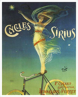 The love affair with bicycles and art is hardly a new hipster phenomena.
