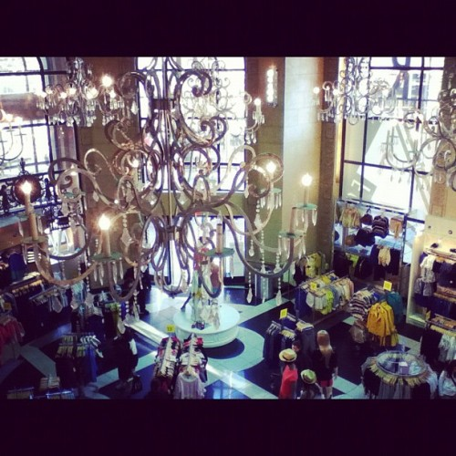I'm a sucker for chandeliers. #Forever21 #sanfranciscoviews #sanfranciscoshopping (Taken with instagram)