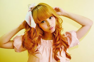 Pinkoolaid: gyaru style photoshoot on We Heart It. http://weheartit.com/entry/23309614