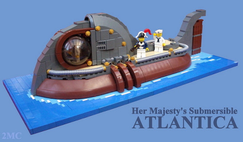Her Majesty's Submersible Atlantica by 2 Much Caffeine on Flickr.