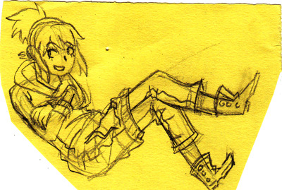 CF2 sketch of Mia