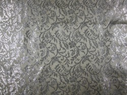 1950s  vintage Bahrainian silk brocade. Easily one of the most stunning  fabrics I've ever laid eyes on. Price available upon request for the 7  yd piece. Sorry, no cuts.