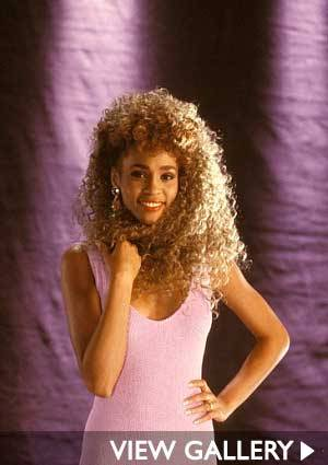 A YOUNG WHITNEY HOUSTON: FASHION ICON AND MUSIC LEGEND