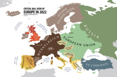 "insigniac:  ""Welcome to the bright future of Europe. The year is 2022, five years after the (what future historians would refer to as) Great European Schism, ending the dream of European political and economic unity. Sounds shocking? Well, it shouldn't. There is a law in history stating that Europe can never be truly united. It always splits in the middle like bacteria yearning for propagation. The Eastern and Western Roman Empires, the Catholic and Orthodox Churches, the Communist East and the Capitalist West – each of those were a result of a failure to unify the continent, politically or spiritually. 2022 is the time when the dissolution of today's Europe becomes final…"""