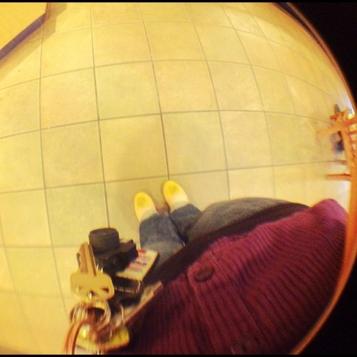 New shoes =) #365photos #366photos #feet #fisheye #starbucks #newshoes (Taken with Instagram at Starbucks)