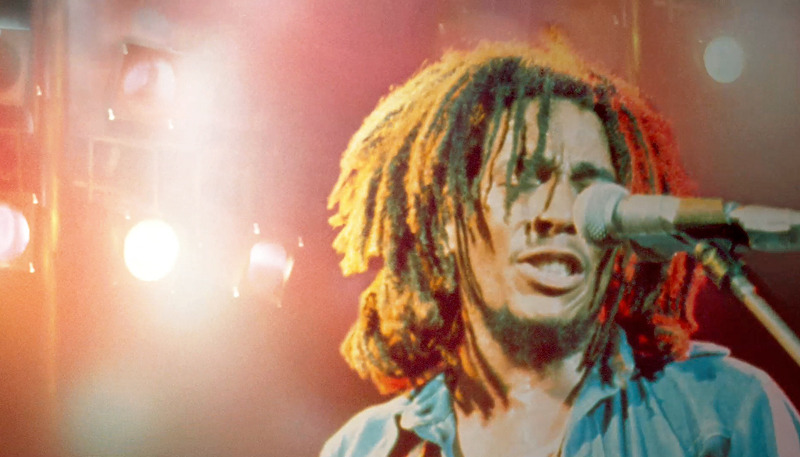 Bob Marley in the new documentary by Kevin Macdonald titled Marley, looking back at the reggae singer's life and music. From the official US trailer.