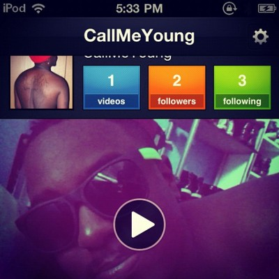 Follow me on Viddy (Taken with instagram)