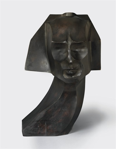 Herwarth Walden (bronze with black patina, 1917) – William Wauer (German, 1866–1962)