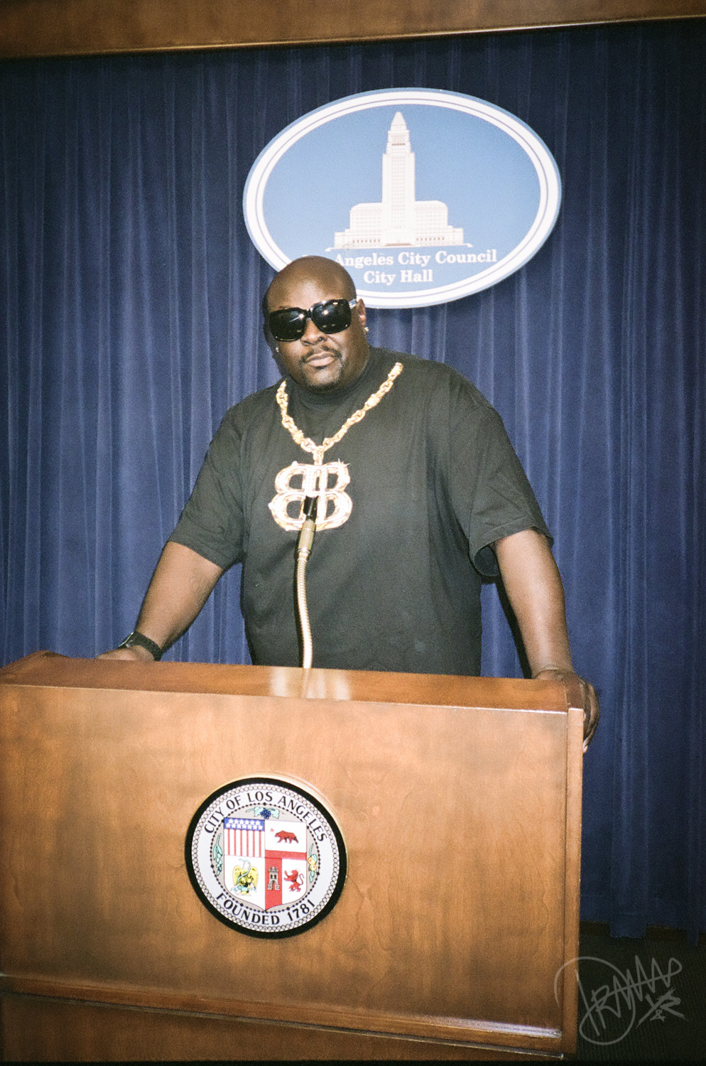 Big Black for Mayor.