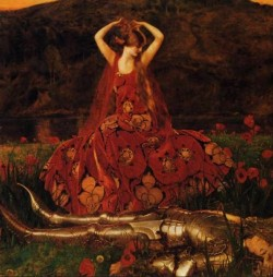 somuchmusicwoundedme:  John William Waterhouse The Lady of Shallot