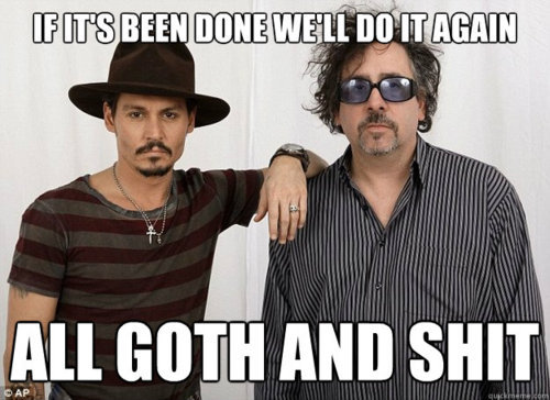 Tim Burton + Johnny Depp + anything = AWESOME GOTHIC SH*T