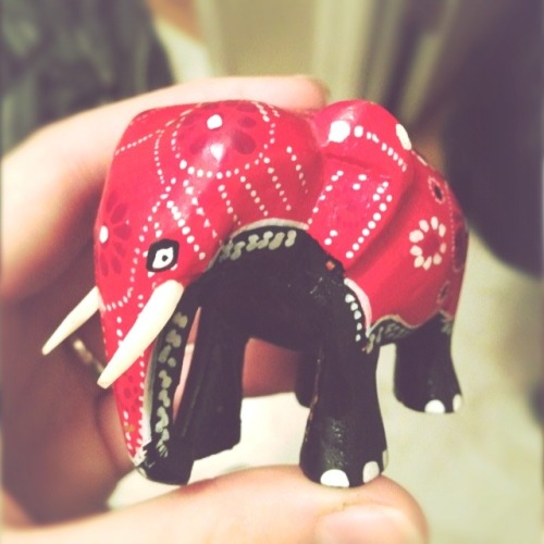 Gift from Drew's grandmother! I love elephants :3