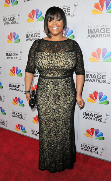 Jill Scott at the 43rd Annual NAACP Awards.