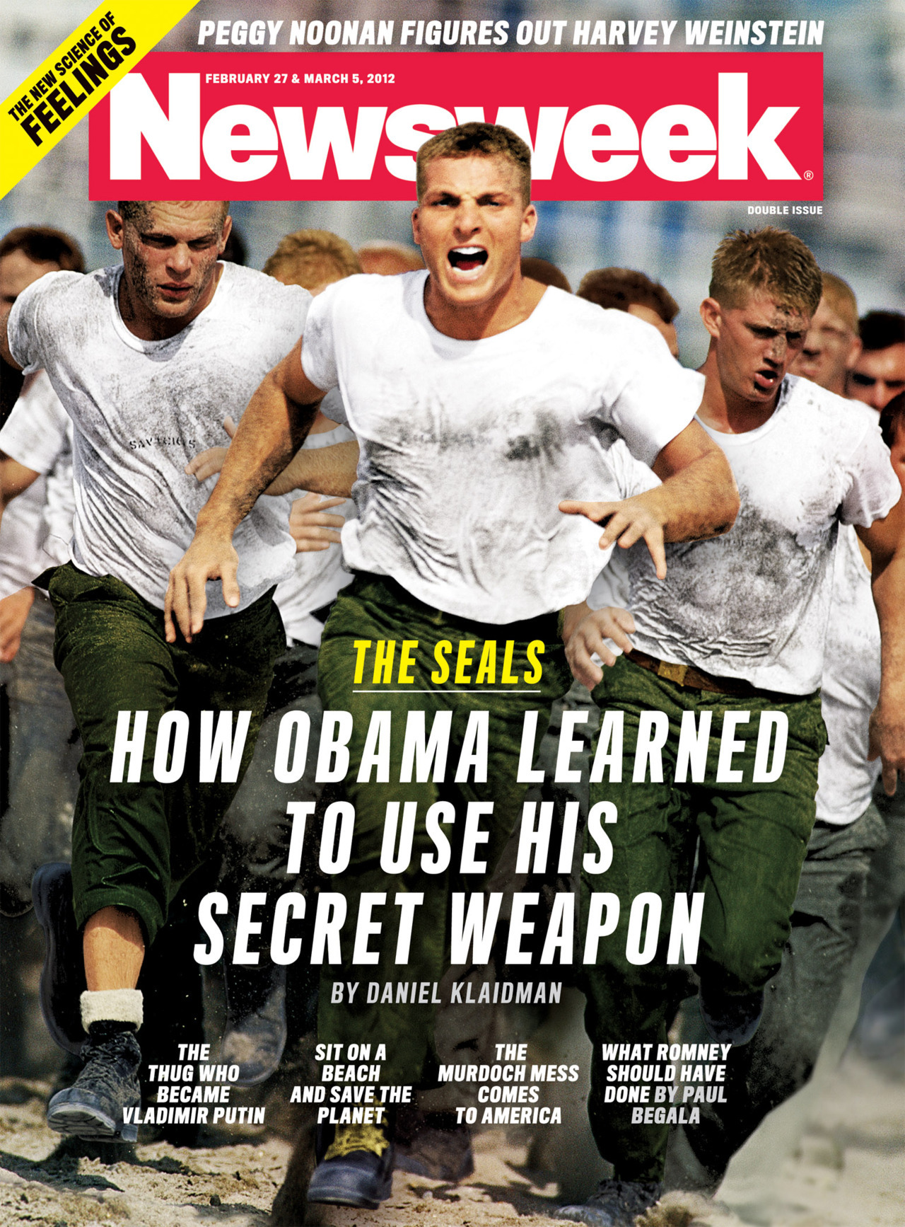 newsweek:  This week's cover: the Navy SEALs.