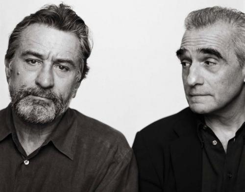 Robert de Niro and Martin Scorsese in New York (2002)