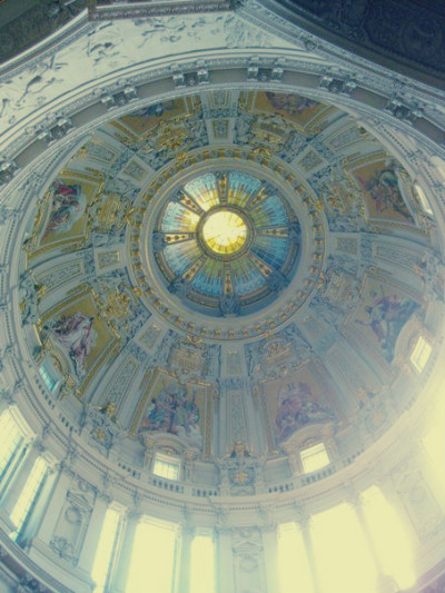 The ceiling of the Berliner Dom in Berlin, Germany.  © J. Atamanuk, 19.02.2012