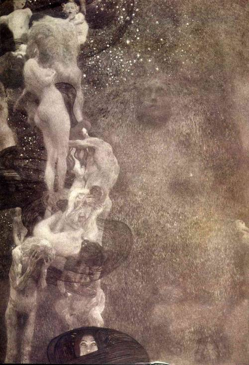 deadpaint:  Gustav Klimt, Philosophy My favorite painter!!