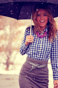 fucolorguardhp:  preppy rainy day outfit…LOOOOVE it! :)