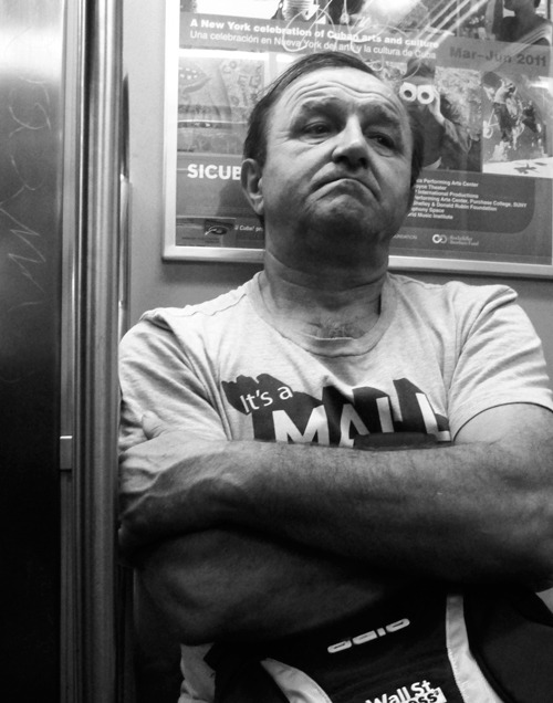Subway Rider , Manhattan 2011